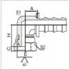 插入式软管接头 22691K-04-04PO,22691K-06-06PO,22691K-08-08PO,22691K-12-12PO