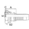 扣压式软管接头 20411C-12-04,20411C-14-04,20411C-16-04,20411C-16-05,20411C-16-06,20411C-18-06,