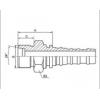 扣压式软管接头 10513-36-12,10513-42-16,10513-52-20,