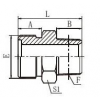 平面密封接头1ET-14,1ET-16,1ET-18,1ET-22,1ET-24,1ET-27,1ET-30,1ET-45,1ET-52,1ET-52-24SP,
