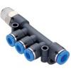 快插式管接头 PKD0604-01,PKD0804-01,PKD1006-02,PKD1008-02,PKD0804-02,PKD1006-03