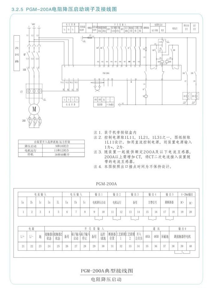 PGM-200A系列低压智能保护控制器