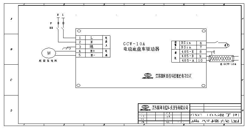 内置式电动底盘车驱动器GXC-10A